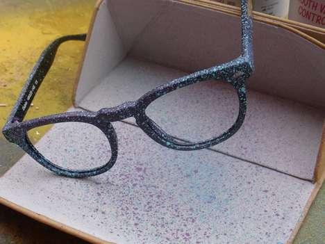 Graffiti-Glazed Senior Sunglasses