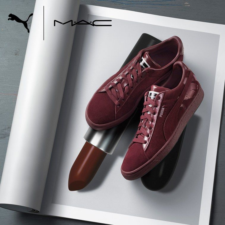 Lipstick-Inspired Sneakers
