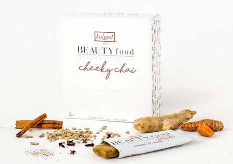 Charitable Superfood Snacks - All Profits from Kalumi's Cheeky Chai Superfood Bar Support Girls Inc.