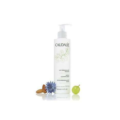 Velvety Milky Cleansers - Caudalie's Gentle Cleansing Milk Moisturizes All Skin Types