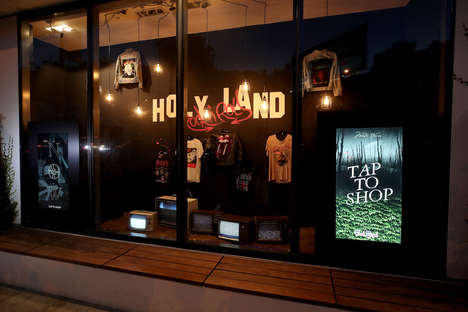 Shoppable Fashion Storefronts - Fred Segal and Mastercard Created a 'Rock 'n Roll Holy Land'