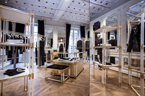 "High-Fashion VR Experiences - Balmain's Store Design by Olivier Rousteing Shares ""My City of Lights"""