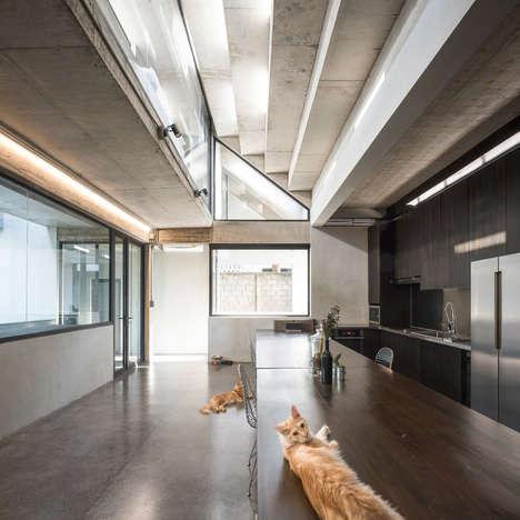 Alleyway-Integrated Homes