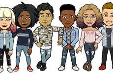 Branded Avatar Outfits - Hollister Created a Spring Collection of Bitmoji Outfits for Snapchat Users