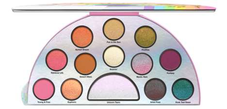 Rainbow-Inspired Eye Palettes - Too Faced Unveiled a Colorful Eye Palette Called 'Life's a Festival'