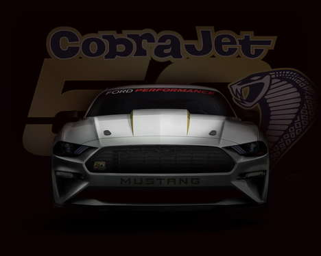 Revived High-Performance Vehicles - A New Cobra Jet Mustang was Built for the Vehicle's Birthday