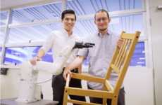 Furniture-Building Robots - Scientists at NTU Built an IKEA-Building Robot to Handle Furniture