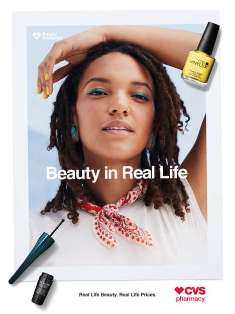 Authentic Beauty Campaigns - CVS' Unretouched 'Beauty in Real Life' Sets New Beauty Standards