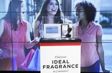 In-Airport Fragrance Kiosks - Nice Côte d'Azur International Airport Now Offers a Fragrance Service