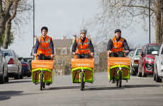 Zero-Emission Grocery Deliveries