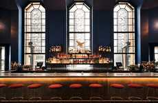 Glamorous Historic Restaurants - The Ophelia Bar in Manhattan is Placed in a Classic 1928 Building