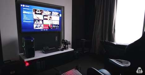 Gamer-Friendly Hotel Rooms