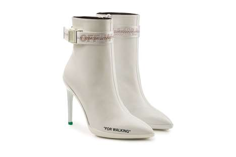 Chic White Ankle Boots
