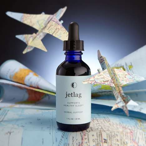 Sleep-Inducing Serums - The Alchemist's Kitchen's Jetlag First Aid Aims to Aid Travelers