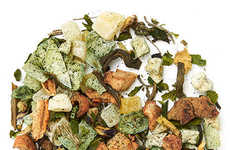 Tropical Algae-Infused Teas