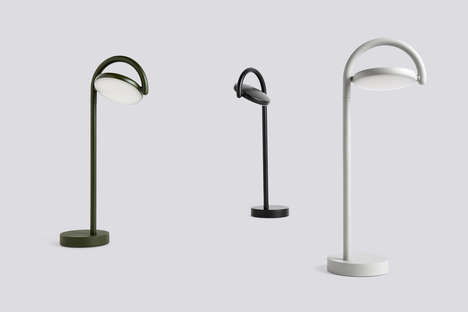 Danish-Inspired Rotating Lamps