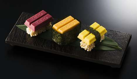 Nestle Has Created Kit Kat Sushi to Celebrate the Opening of a New Store