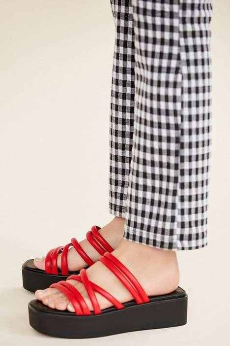 90s-Inspired Platform Sandals