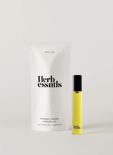 Cannabis-Infused Perfume Oils - Herb Essentials' Perfume Has Notes of Citrus, Patchouli & Dry Amber
