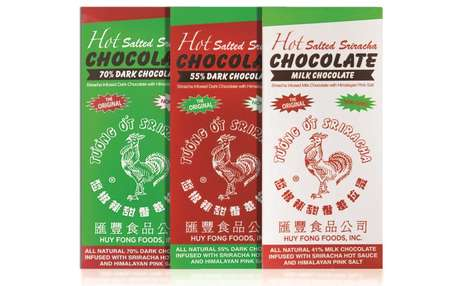 Spicy Sauce-Infused Chocolates