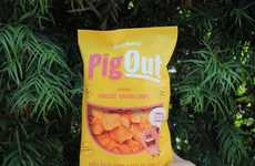 Plant-Based Pork Rind Snacks