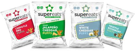 Protein-Packed Puff Snacks - SuperEats' Puffs are Made with the Superfood Sacha Inchi