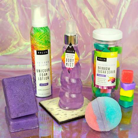 Unicorn-Themed Bath Products