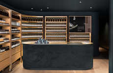 Jazzy Beauty Store Interiors - Aesop Montreal Boasts a Fashion-Forward and Sleek Interior Design