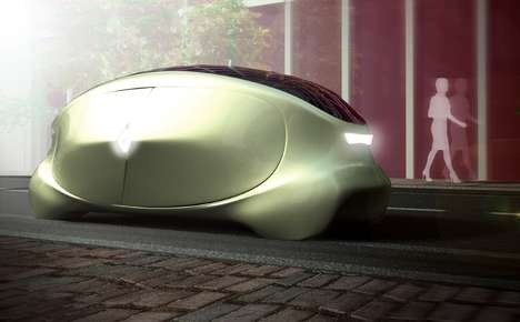 Boxy Autonomous Vehicles - The Renault 'Avame' Has a Visual Aesthetic That is Unlike Existing Cars