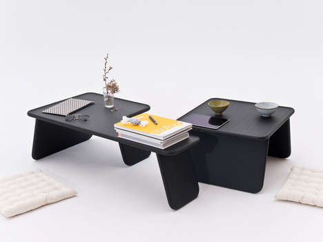 Japanese-Inspired Stackable Tables