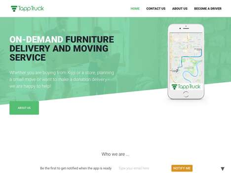 On-Demand Furniture Delivery Services