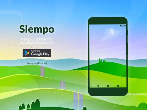 Smartphone-Simplifying Apps