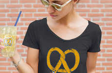 Pretzel-Themed Clothing Lines