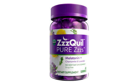 Tasty Drug-Free Sleep Aids - The Vicks ZzzQuil PURE Zzzs Melatonin Gummies are Non-Habit Forming