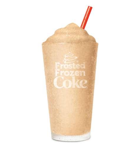 Frosted Soda Slushies