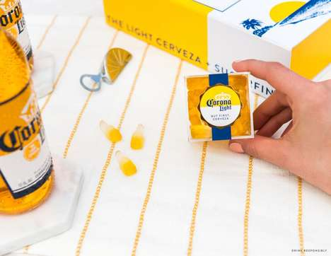 Boozy Beer Gummy Bears - Corona Light Teamed Up with Sugarfina to Create Sweet Gummy Cervezas