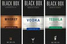 Sophisticated Boxed Spirits - Black Box Wines is Now Offering Whiskey, Vodka, and Tequila in Boxes