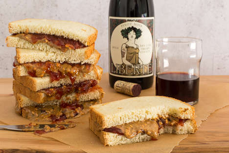 PB&J Wine Pairings - Trader Joe's is Pairing Its Wines with a Beloved Childhood Snack