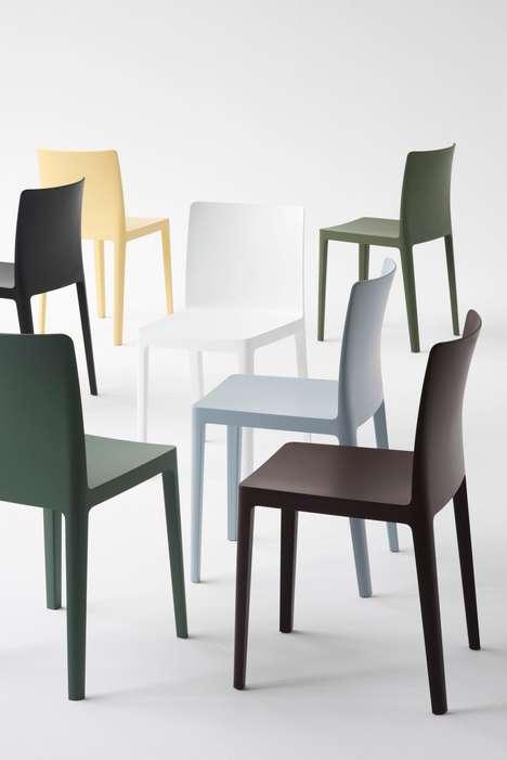 Minimalist Plastic Chairs