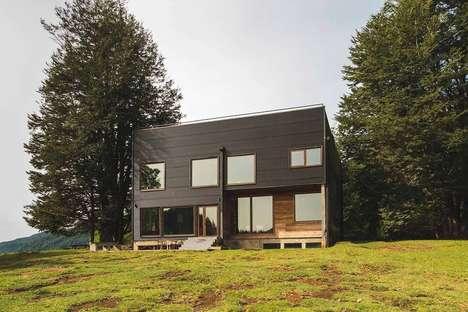 Dark Minimalist Home Designs