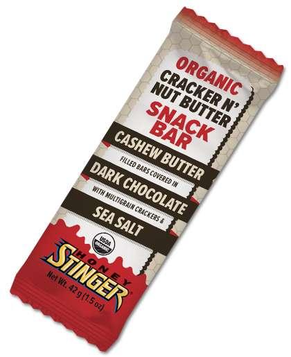 Nut Butter-Infused Cracker Bars