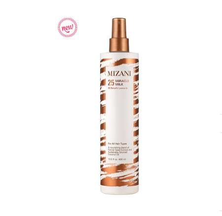 Versatile Hair-Conditioning Milks - Mizani's '25 Miracle Milk' Provides the Hair with 25 Benefits