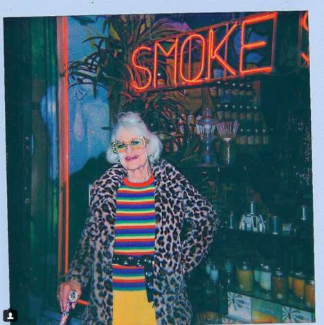 Tech-Savvy Elderly Influencers - Baddie Winkle is a Social Media Influencer and Famous Model