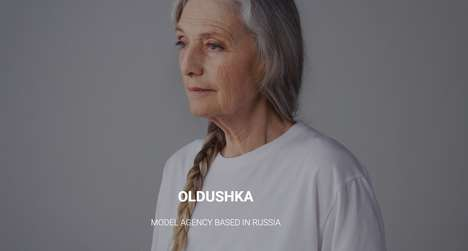 Exclusively Mature Modeling Agencies - Russian Modeling Agency Oldushka Specializes in Mature Talent