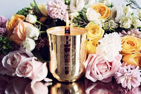 $1,000 Collectible Candles - Owen Drew's Luxurious Candle Scent Pays Tribute to the Royal Wedding