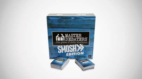Debate-Starting Card Games - The Master Debaters Smosh Edition Game Gets Conversations Started