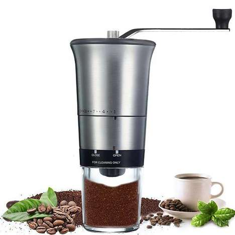 Commuter-Friendly Coffee Grinders