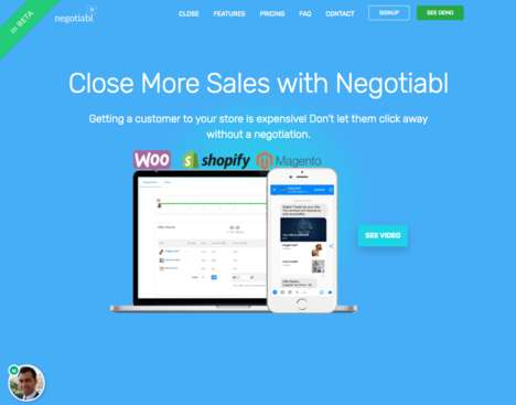 Negotiation-Focused eCommerce Platforms - 'Negotiabl' Lets Shoppers Barter Directly with Merchants