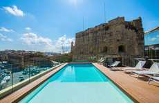 Classic Sandstone Hotel Designs - Cugo Gran Macina Grand Harbour is a Luxe Maltese Travel Option