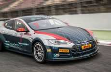 Electrifying Automotive Races - The 'Electric Production Car Series' Will Exclusively Feature Teslas